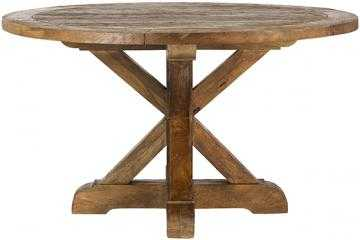 Cane Round Dining Table - Home Depot