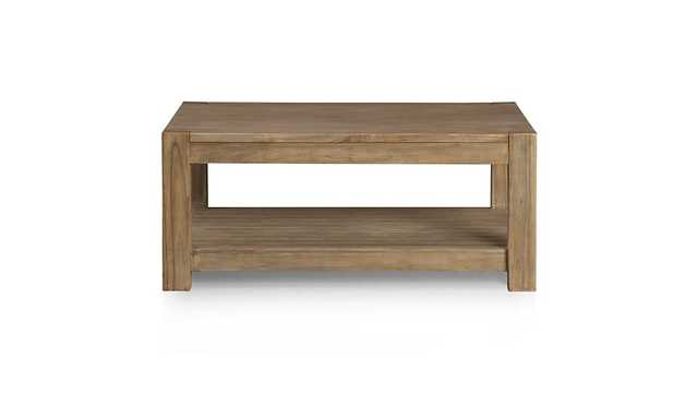Edgewood Square Coffee Table - Crate and Barrel