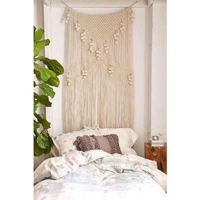 Meda Metallic Macrame Wall Hanging - Urban Outfitters