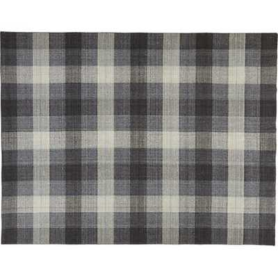 Tailor plaid rug - CB2