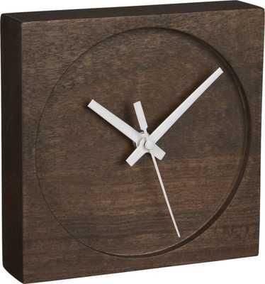 Square Circle Table Clock - CB2