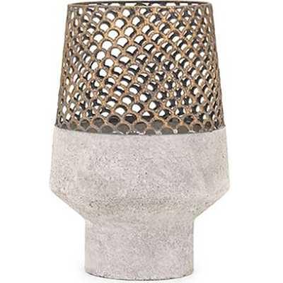Rowan Metal Vase - Small - High Fashion Home