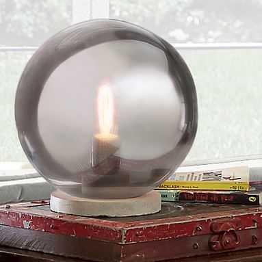 Globe Table Lamp - Pottery Barn Teen