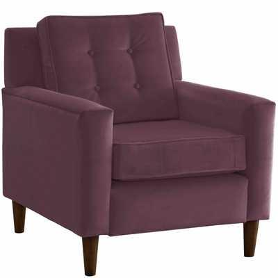 Arm Chair in Premier Purple - Third & Vine