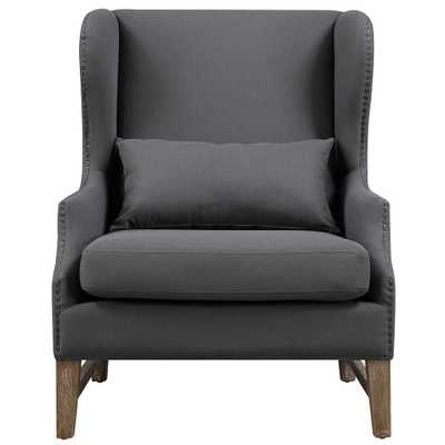 Adalynn Morgan LINEN WING CHAIR - Maren Home