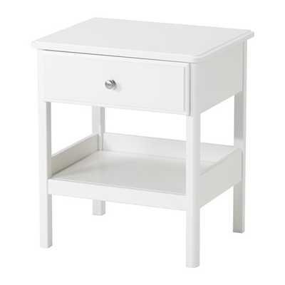 TYSSEDAL Nightstand, white - Ikea