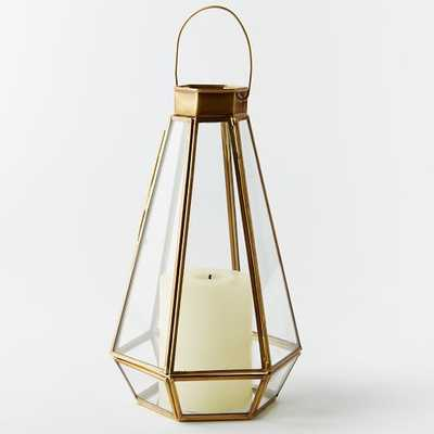 Faceted Lantern - Medium - West Elm