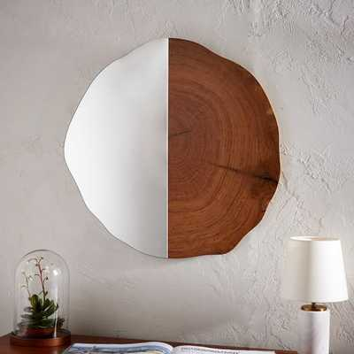 Tree Ring Wall Mirror - West Elm