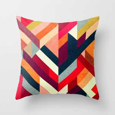 """March 1927 Indoor Pillow - 20"""" x 20"""" - Down Insert - Society6"""