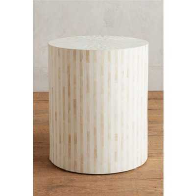 Rounded Inlay Side Table [REGULAR] - Anthropologie