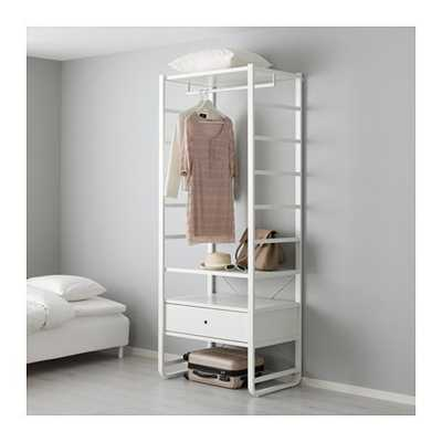 ELVARLI Shelf unit, white - Ikea