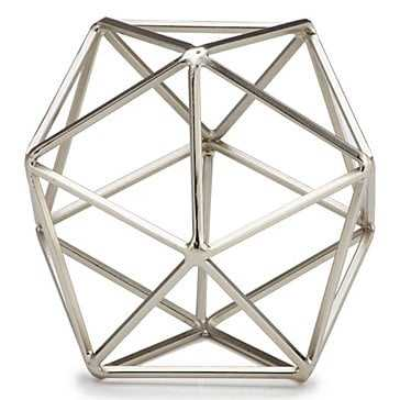 Hexadome Sphere - Nickel - Z Gallerie