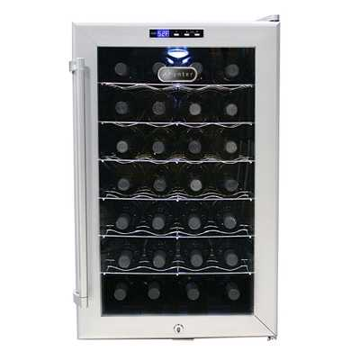 28-Bottle Thermoelectric Wine Cooler - Home Depot