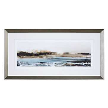 Sharing Peace 1 - Limited Edition - 40.5''  x 20.5''  - Champagne  Frame - With mat - Z Gallerie