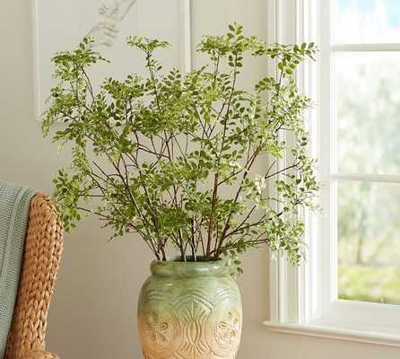 Green Petal Leaf Branch - Pottery Barn