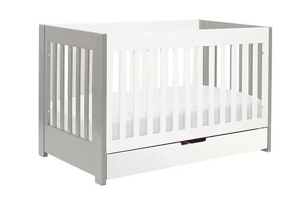 Mercer 3-IN-1 CONVERTIBLE CRIB WITH TODDLER BED CONVERSION KIT - Babyletto