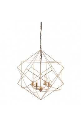 Penta Ceiling Lamp Gold - Zuri Studios