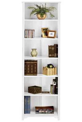 """OXFORD BOOKCASE - Six Shelf - 24""""W - White - Home Decorators"""