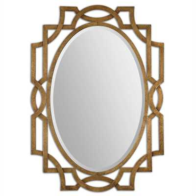 Margutta Oval Mirror - Hudsonhill Foundry