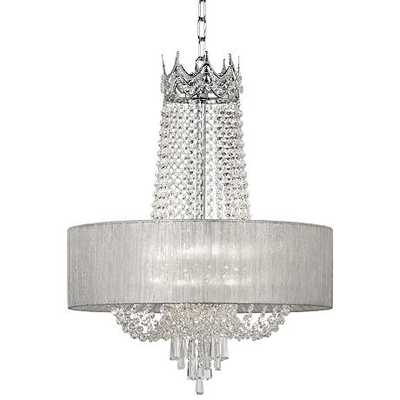 Hallie Clear Crystal Chandelier - Lamps Plus