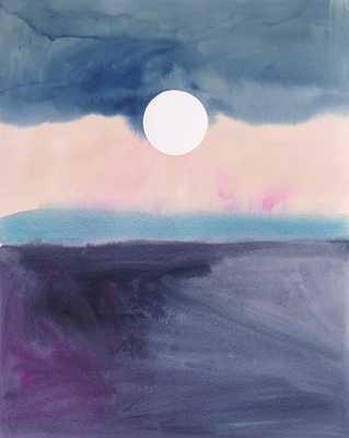 """Moonrise - 14"""" x 17"""" - Unframed - Artfully Walls"""
