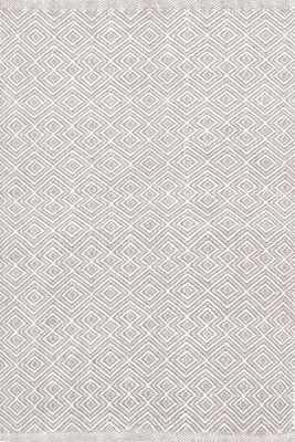 Annabelle Grey Indoor/Outdoor Rug - 8' x 10' - Dash and Albert