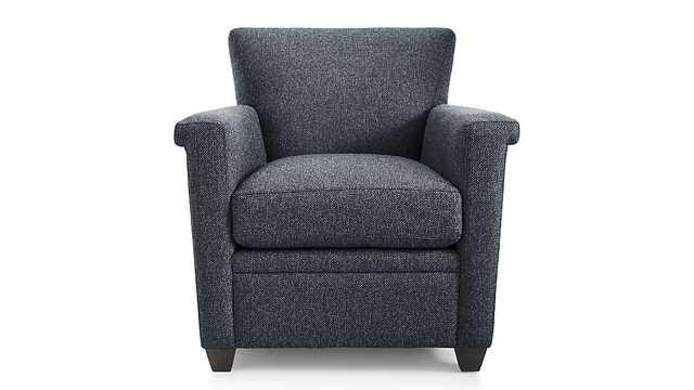 Declan Chair - Cobalt - Crate and Barrel