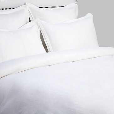 Camerson Bedding - Queen Duvet Cover - White - Z Gallerie