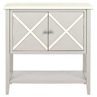 Polly Grey/ White Storage Sideboard - Bed Bath & Beyond