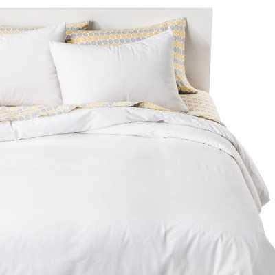 Solid Cotton Blend Duvet Cover Set - Target