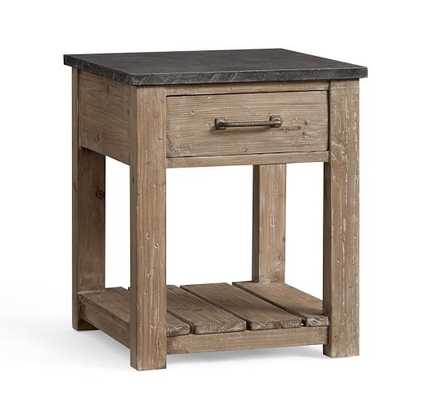 Parker Reclaimed Wood Side Table - Pottery Barn