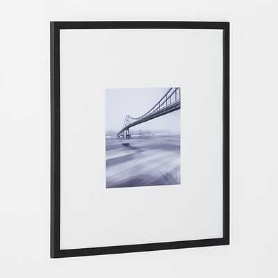 Matte Black 11x11 Wall Frame - Crate and Barrel