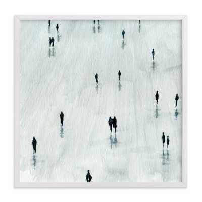 "Sombras Art Print - 16"" x 16"" - White Frame - No Mat - Minted"