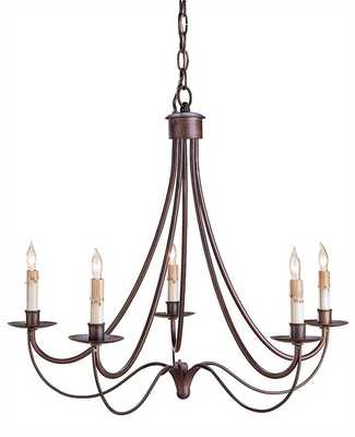 CASCADE CHANDELIER - Currey and Company