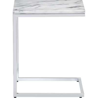 Smart marble top c table - CB2