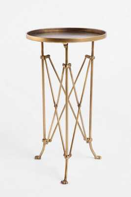 Metal Accordion Side Table - Urban Outfitters