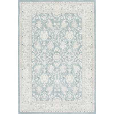 NuLOOM Traditional Persian Vintage Blue Rug (7'10 x 11') - Overstock