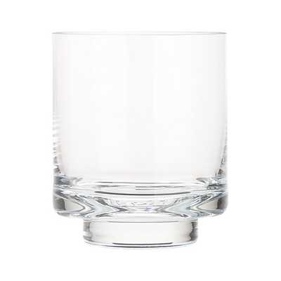 Taylor Small Glass Hurricane Candle Holder - Crate and Barrel