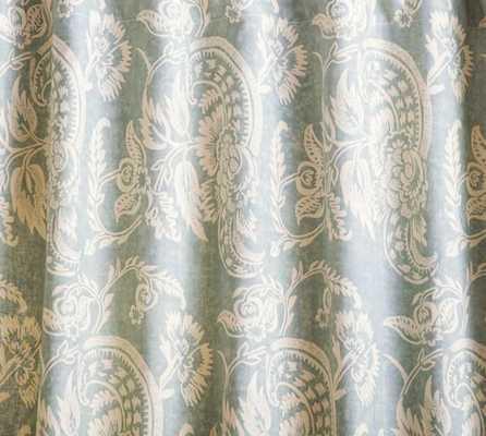 """ALESSANDRA FLORAL DRAPE - 50'' x 108"""" - Pottery Barn"""