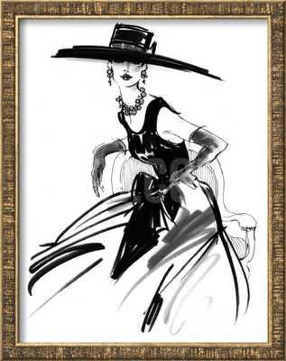 ANABEL- Framed- No mat - art.com