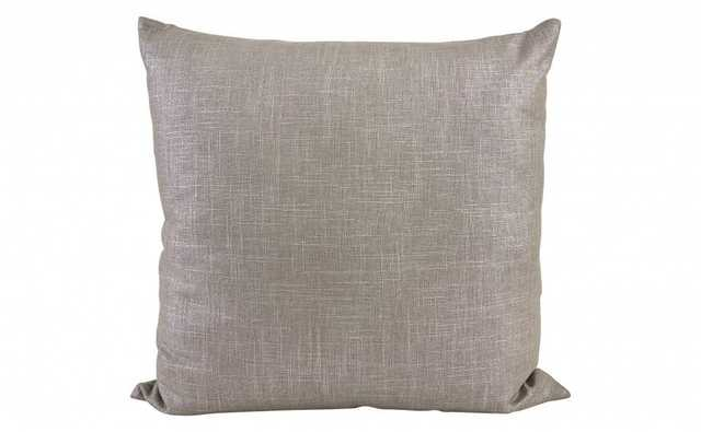 """SWAY TAUPE PILLOW - 22"""" x 22"""" - Insert Included - Jayson Home"""