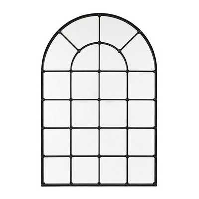 "Grand Palais 54"" Arch Mirror - Antique Bronze - Ballard Designs"
