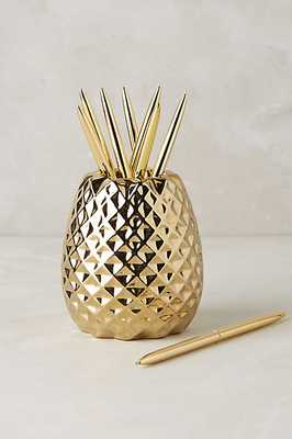 Pineapple Pencil Holder - Anthropologie