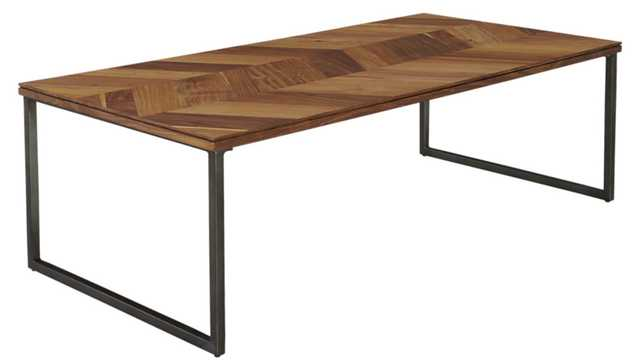 "Chevron 48"" coffee table - CB2"