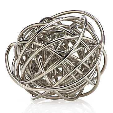 Orbit Sphere - Silver - Z Gallerie