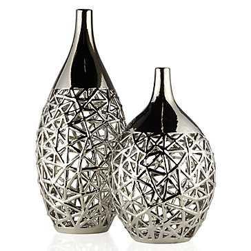 """Spun Vase - 21.75""""H - Z Gallerie"""