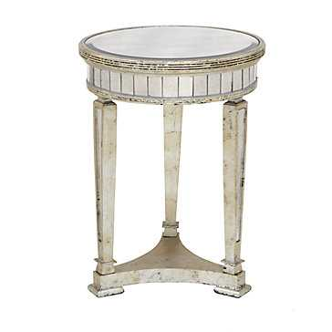 Borghese Mirrored End Table - Z Gallerie