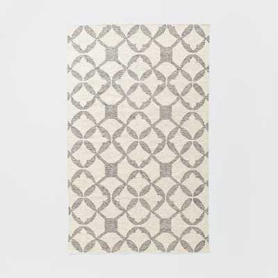 Tile Wool Kilim Rug - West Elm