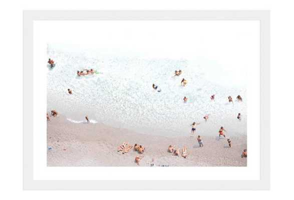"""Gigliotti, White Afternoon - 24"""" x 18"""" - White Frame with Mat - One Kings Lane"""