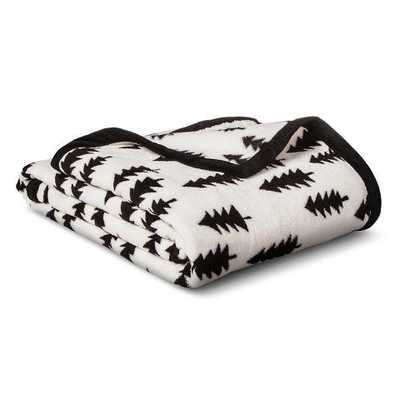 Forest Plush Blanket - Twin - Target